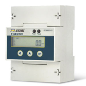F-DEM130 Din Rail Three Phase Energy Meter