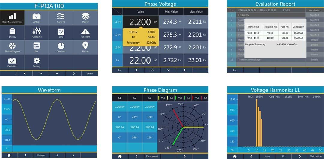 F-PQA100 Power Quality Analyzer-3