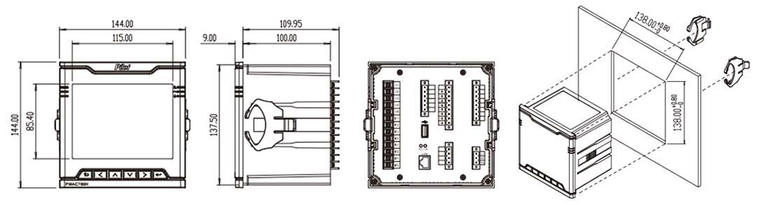 F-PQA100 Power Quality Analyzer-4